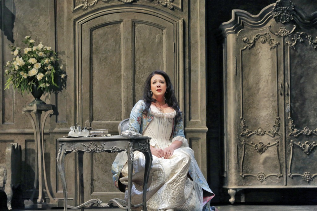 SUSANNA PHILLIPS (COUNTESS ALMAVIVA). Photo by Ken Howard