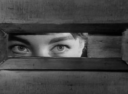 "Eyes from ""The Trial"" by Orson Welles."