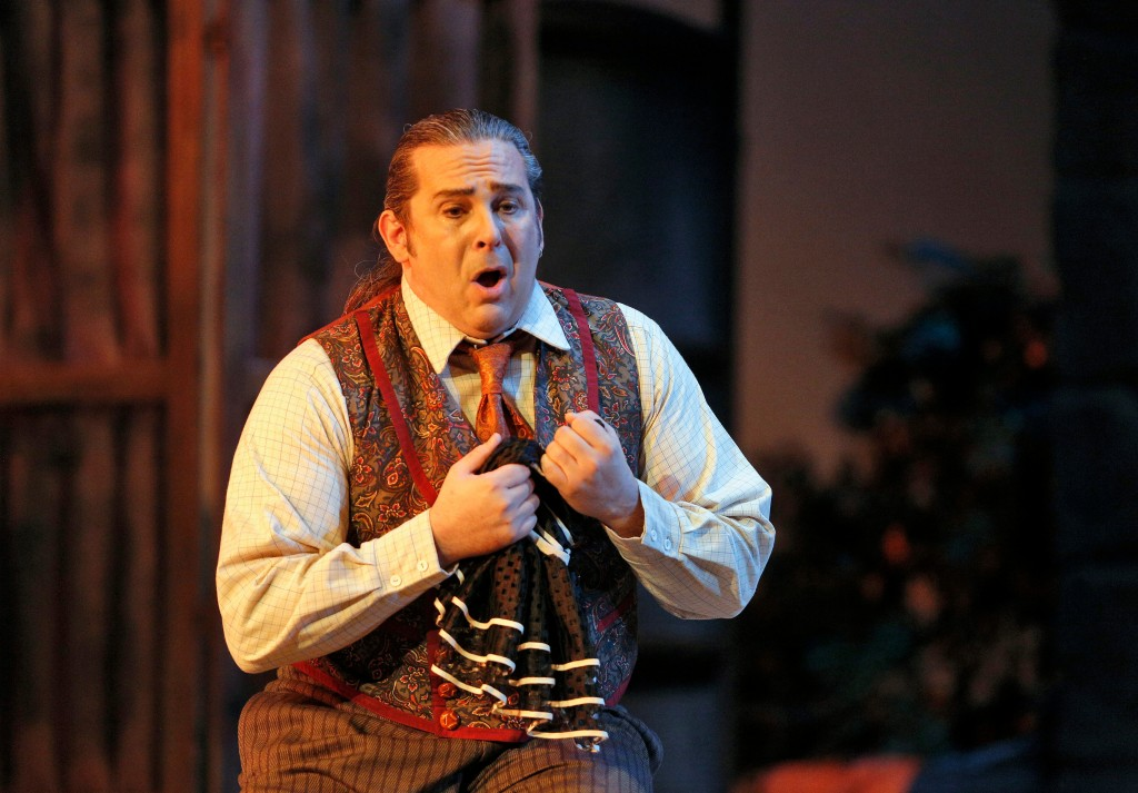 Tenor Frank Porretta as Canio. Photo by Cory Weaver.