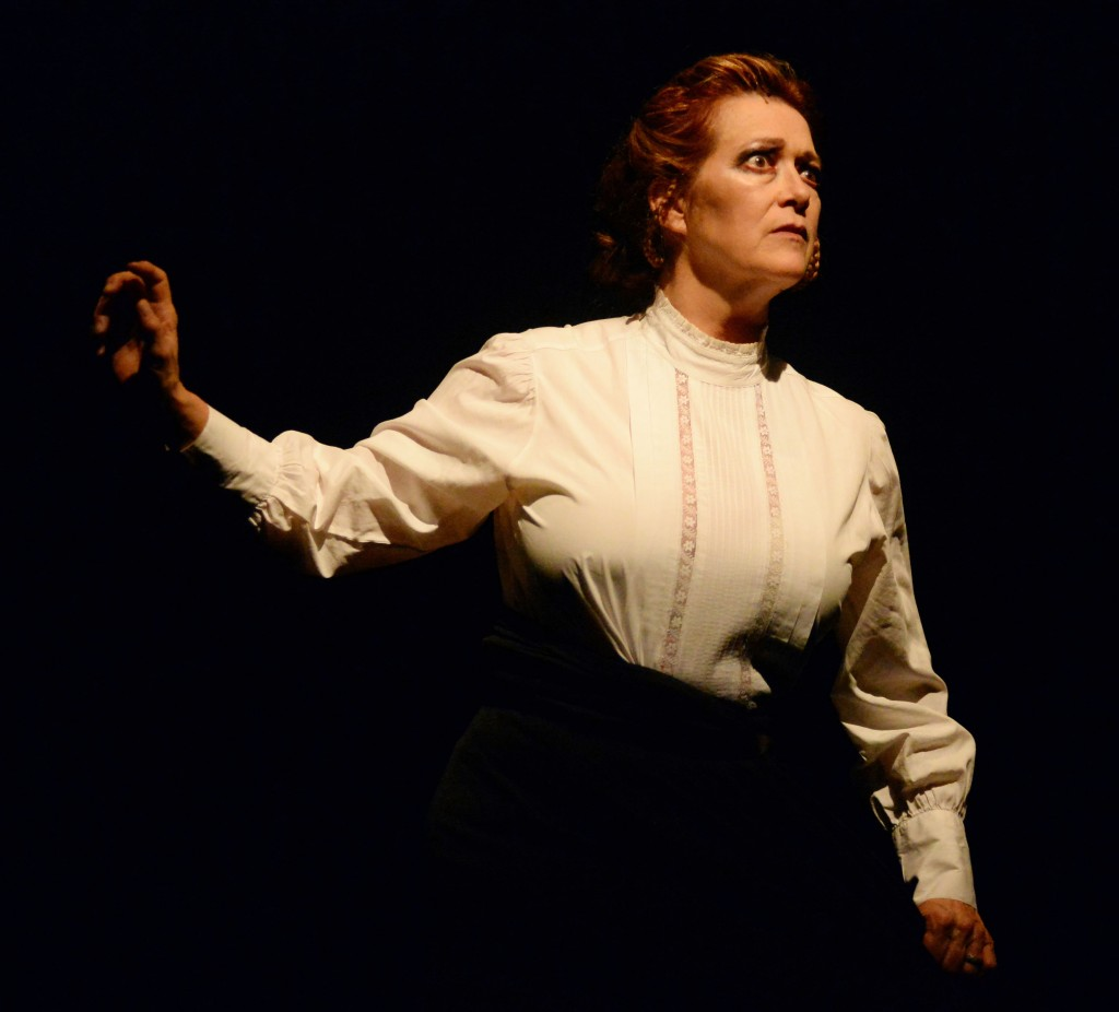 Suzan Hanson as Mrs. Williamson. Photo bu Keith Ian Polokoff.