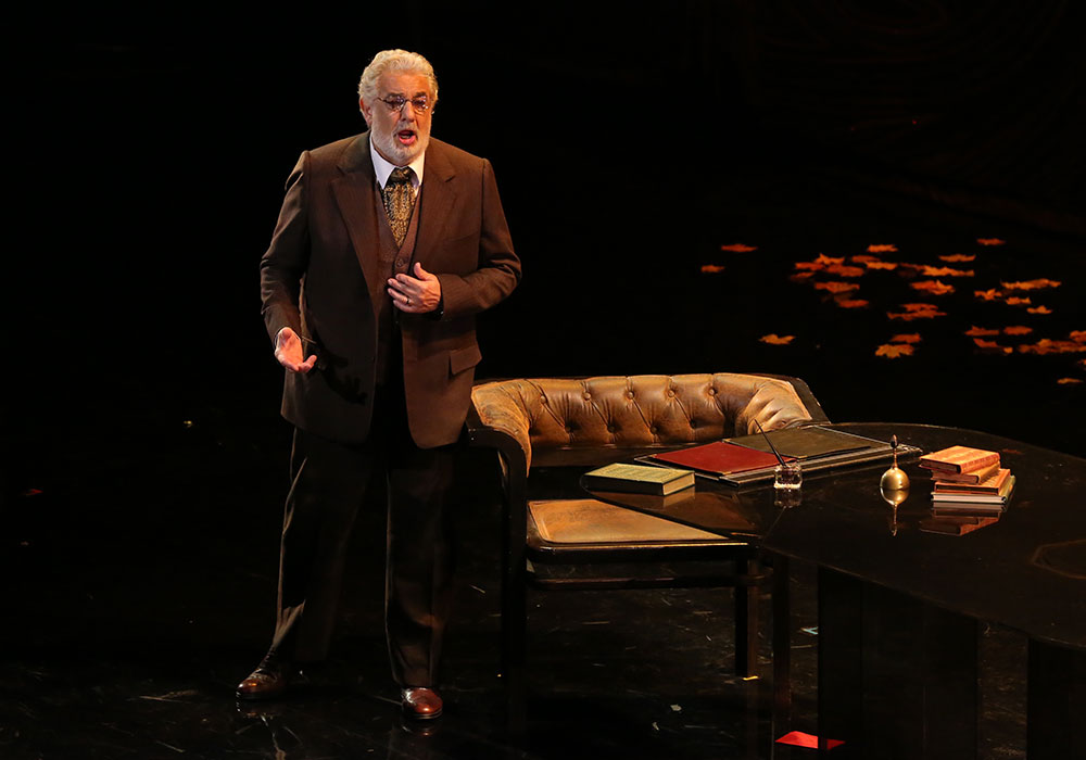 Giorgio Germont (Plácido Domingo). Photo by Craig Matthew